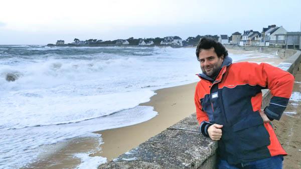 Pat à la plage Valentin
